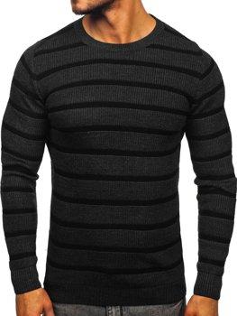 Свитер мужской темно-серый Bolf 4356