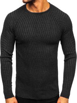 Свитер мужской черный Bolf 285