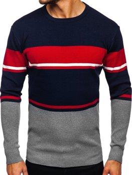 Серый мужской свитер Bolf H2068