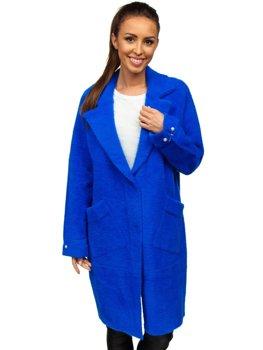 Синее женское пальто Bolf 20737
