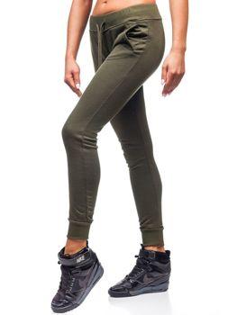 Спортивные штаны женские хаки Bolf WB11003-А