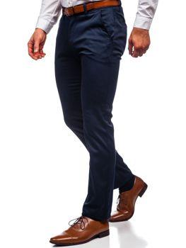 Темно-синие мужские брюки чинос Bolf KA1786P