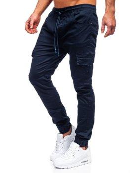 Темно-синие мужские джоггеры-карго Bolf TF016