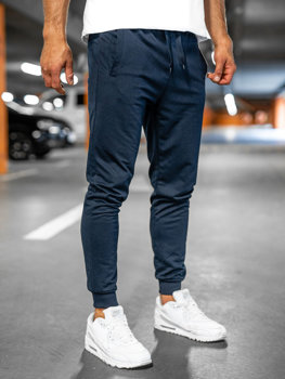 Темно-синие мужские спортивные брюки Bolf 68K10001