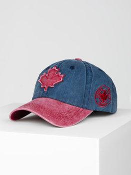 Темно-синяя кепка, бейсболка Bolf CZ75