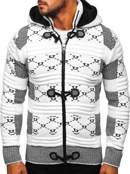 Челый мужской свитер толстой вязки Bolf 2059