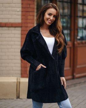Черное женское пальто Bolf 7108