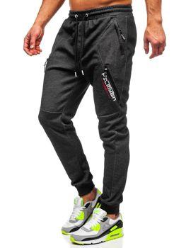 Черно-белые мужские спортивные брюки Bolf Q1041
