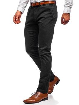 Черные мужские брюки чиносы Bolf 1143