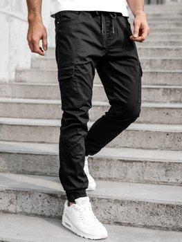Черные мужские джоггеры-карго Bolf TF016