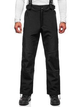 Черные мужские лыжные брюки Bolf BK160