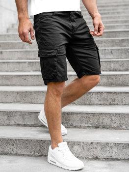 Черные мужские шорты карго шорты Bolf YF2219