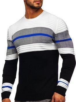Черный мужской свитер Bolf 1058