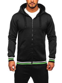 Черный мужской спортивный костюм Bolf C10255