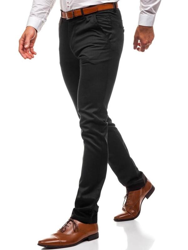 Мужские брюки черные Bolf 3174