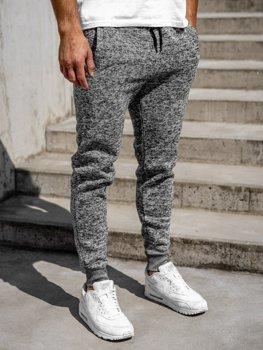 Мужские спортивные брюки серые Bolf KS1943