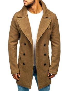 Мужское зимнее пальто кэмел Bolf 1048A