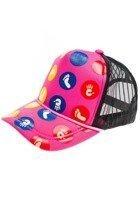 Розово-черная женская бейсболка Bolf 69