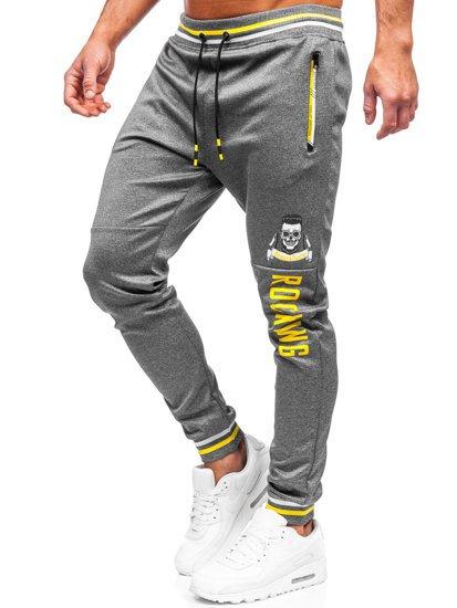 Графитные мужские спортивные брюки Bolf K10231