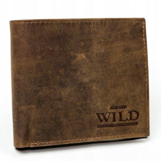 Кошелек мужской кожаный светло-коричневый 3182
