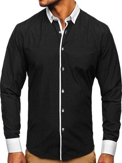 Рубашка мужская BOLF 2782 черная