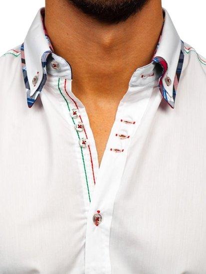 Рубашка мужская BOLF 3701 белая