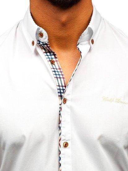 Рубашка мужская BOLF 5509-1 белая