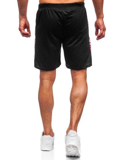 Черные мужские спортивные шорты Bolf KS2577