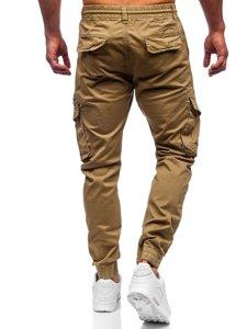 Кэмел мужские брюки джоггеры карго Bolf CT6707S0