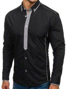 Рубашка мужская BOLF 5800 черная