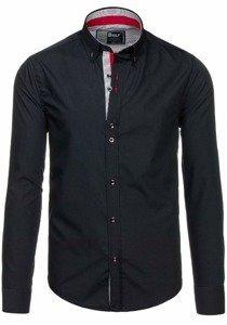 Рубашка мужская BOLF 5819 черная