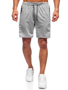 Серые мужские спортивные шорты Bolf KS2577