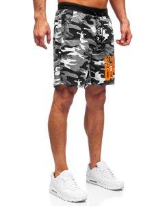 Серые мужские спортивные шорты Bolf KS2581