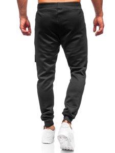 Черные мужские спортивные брюки карго Bolf K10286