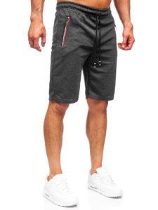 Черные мужские спортивные шорты Bolf JX131