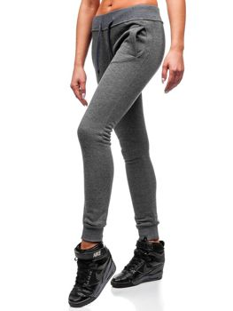 Жіночі спортивні штани графітові Bolf 77001