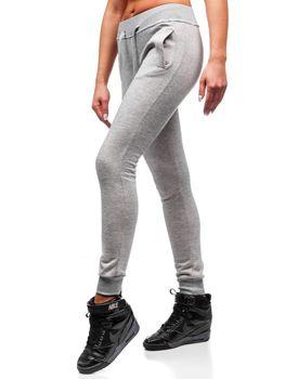 Жіночі спортивні штани сірі Bolf 77001