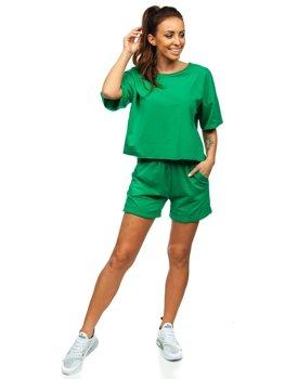Зелений жіночий спортивний комплект Bolf 6256