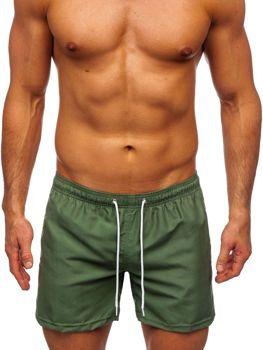 Зелені чоловічі пляжні шорти Bolf ST002