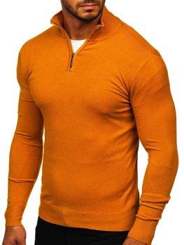 Кеемел чоловічий светр з високим коміром стійка Bolf YY08