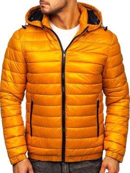 Кемел демісезонна чоловіча стьобана куртка Bolf 6794