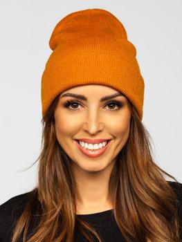 Кемел зимова жіноча шапка YW09004