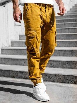 Кемел чоловічі штани джоггери-карго Bolf 8956