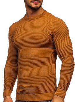Коричневий чоловічий светр Bolf 4608