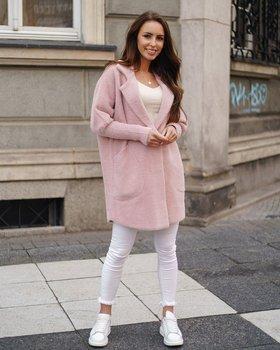 Рожеве жіноче пальто Bolf 7108