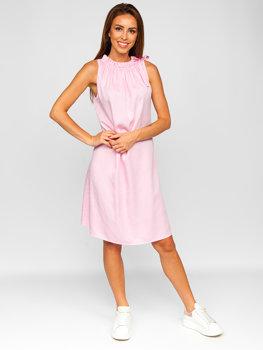 Рожеве жіноче плаття Bolf 9785