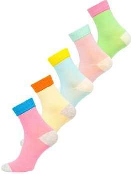 Різнокольорові жіночі шкарпетки Bolf X20328-5P 5 PACK