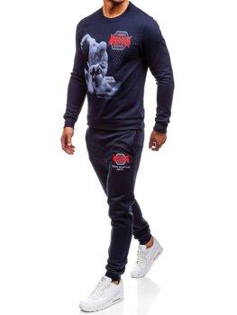Спортивний костюм чоловічий OXCID X219 темно-синій