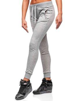 Спортивні штани жіночі сірі Bolf WB11003-А
