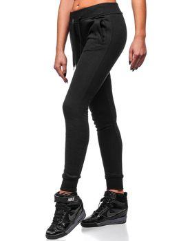Спортивні штани жіночі чорні Bolf 77001